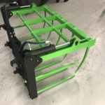 Loader grab with euro brackets